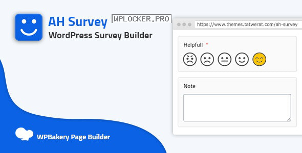 AH Survey v1.3 – Survey Builder With Multiple Questions Types