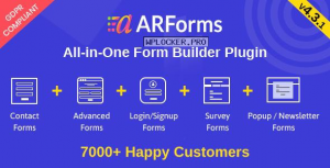 ARForms v4.3.1 – WordPress Form Builder Plugin