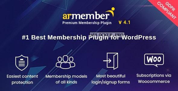 ARMember v4.1 – WordPress Membership Plugin