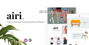 Airi v1.1.9 – Clean, Minimal WooCommerce Theme
