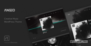 Angio v1.1.1 – Creative Music Theme