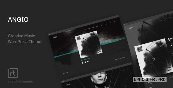 Angio v1.1.1 – Creative Music Theme