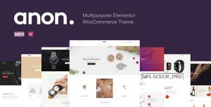 Anon v1.7.1 – Multipurpose Elementor WooCommerce Theme