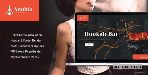Anubia v1.0.4 – Smoking and Hookah Bar WordPress Theme