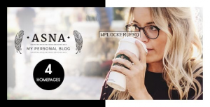 Asna v2.2 – Creative Blog Theme