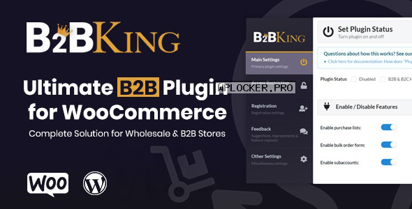 B2BKing v2.6.0 – The Ultimate WooCommerce B2B & Wholesale Plugin