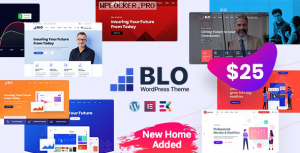BLO v2.6 – Corporate Business WordPress Theme