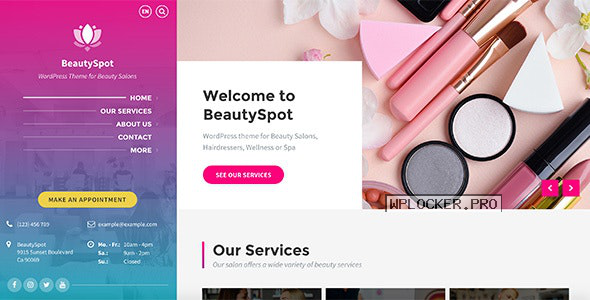 BeautySpot v3.3.9 – WordPress Theme for Beauty Salons