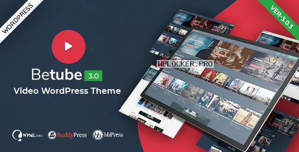 Betube v3.0.3 – Video WordPress Theme