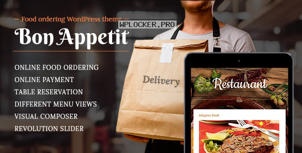Bon Appetit v5.1.1 – Restaurant WordPress Theme