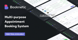 Booknetic v2.0.1 – WordPress Appointment Booking and Scheduling system