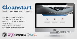 CLEANSTART v1.6.6 – Clean Multipurpose Business Theme