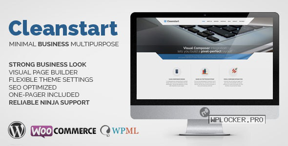 CLEANSTART v1.6.6 – Clean Multipurpose Business Theme
