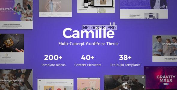 Camille v1.1.1 – Multi-Concept WordPress Theme