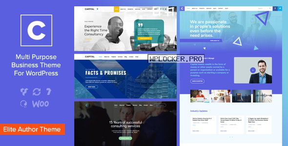 Capital v2.0 – Multi Purpose Business WordPress Theme