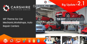 Car Shire v2.4 – Auto Mechanic & Repair WordPress Theme