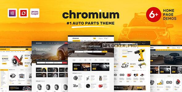 Chromium v1.3.16 – Auto Parts Shop WordPress Theme