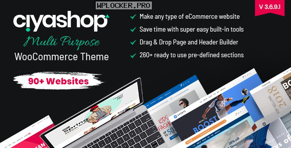 CiyaShop v3.6.9.1 – Responsive Multi-Purpose Theme