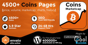 Coins MarketCap v4.0 – WordPress Cryptocurrency Plugin