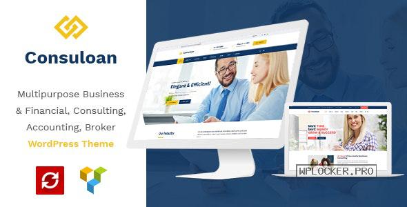 Consuloan v1.0.9 – Multipurpose Consulting WordPress Theme