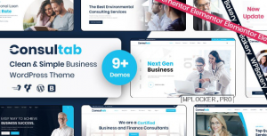 Consultab v2.3 – Consulting Business & Finance WordPress Theme