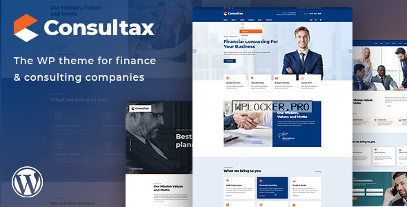 Consultax v1.0.8 – Financial & Consulting WordPress Theme