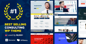 Consulting v5.1.9 – Business, Finance WordPress Theme