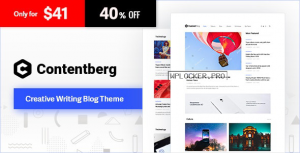 Contentberg Blog v1.8.3 – Content Marketing Blog