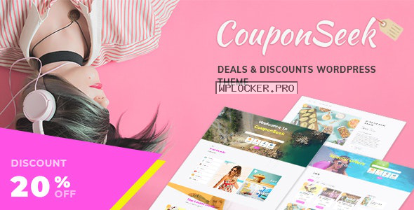 CouponSeek v1.1.5 – Deals & Discounts WordPress Theme