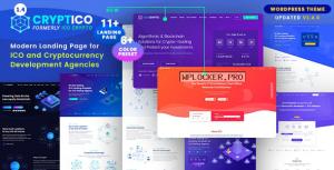 Cryptico v1.4.8 – ICO Crypto Landing & Cryptocurrency Theme