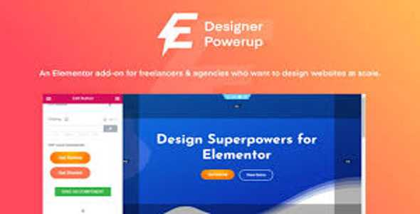 Designer Powerup for Elementor v2.2.0
