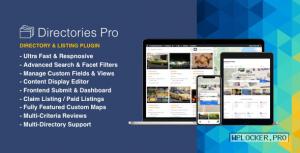 Directories Pro v1.3.42 + Addons