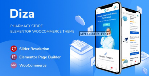 Diza v1.1.2 – Pharmacy Store Elementor WooCommerce Theme