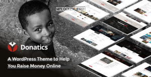 Donatics v1.2.47 – Charity & Fundraising WordPress Theme