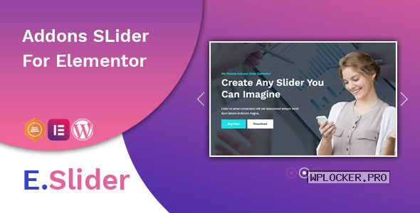 E.Slider v1.0.2 – Add ons slider for Elementor