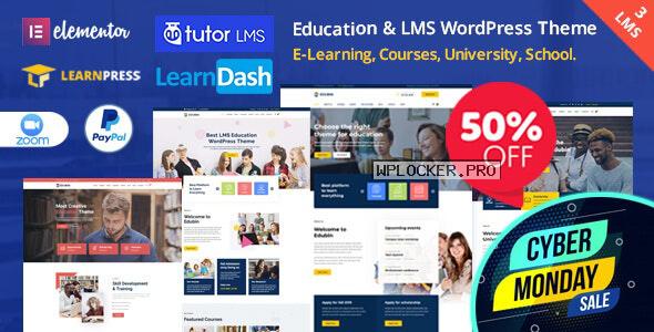 Edubin v6.6.7 – Education LMS WordPress Theme