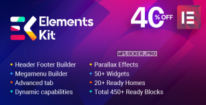 ElementsKit v2.0.3 – The Ultimate Addons for Elementor Page Builder