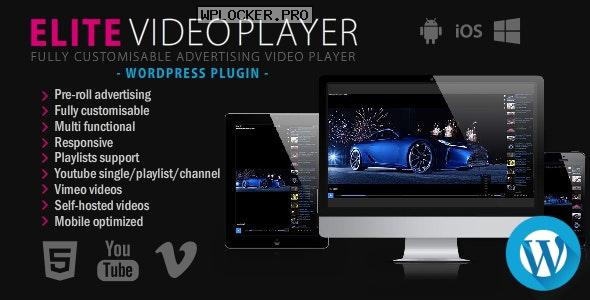 Elite Video Player v6.3 – WordPress plugin