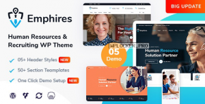 Emphires v2.0 – Human Resources & Recruiting Theme
