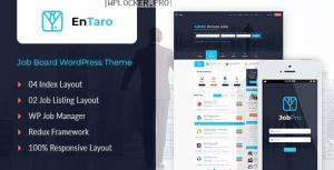 Entaro v3.16 – Job Portal WordPress Theme