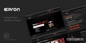 Epron v2.0.4 – Music Theme for WordPress