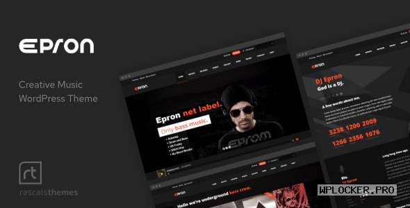 Epron v2.0.4 – Music Theme for WordPress