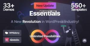 Essentials v1.1.6 – Multipurpose WordPress Theme