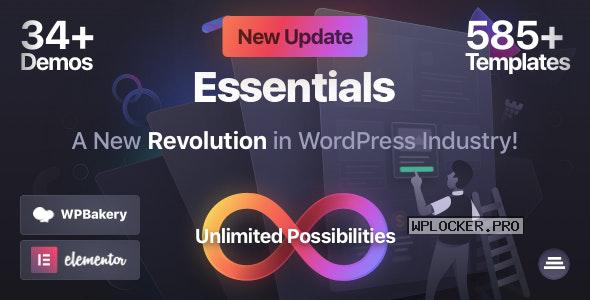 Essentials v1.2.0 – Multipurpose WordPress Theme