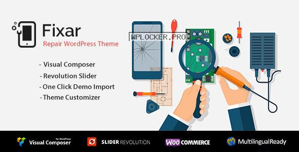 Fixar v1.3.4 – Phone & Computer Repair Theme