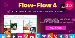 Flow-Flow v4.6.11 – WordPress Social Stream Plugin