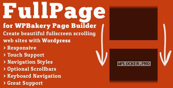 FullPage for WPBakery Page Builder v2.1.3