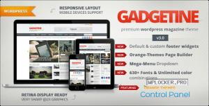 Gadgetine v3.4.0 – WordPress Theme for Premium Magazine