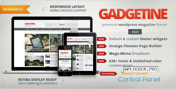 Gadgetine v3.4.0 – WordPress Theme for Premium Magazine