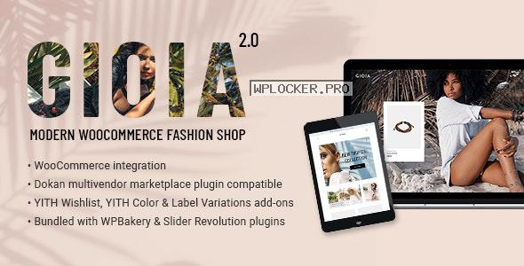 Gioia v2.1 – Modern Fashion Shop